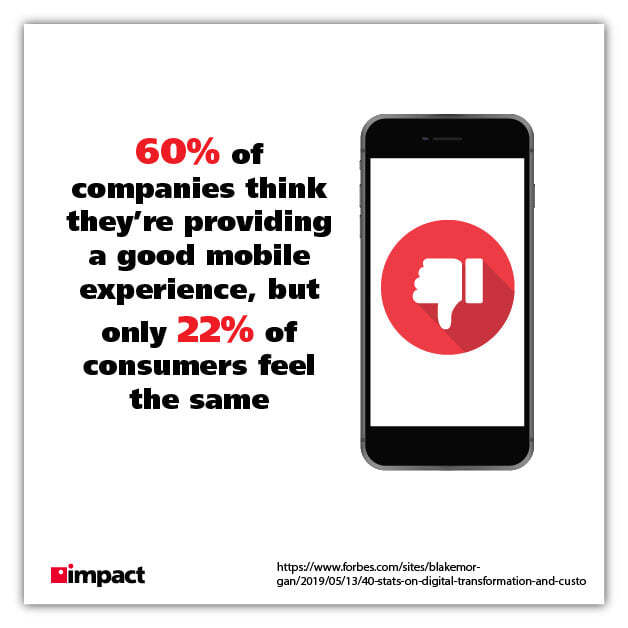 mobile experience graphic