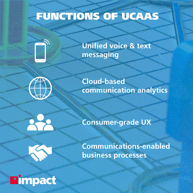 Functions of UCaaS