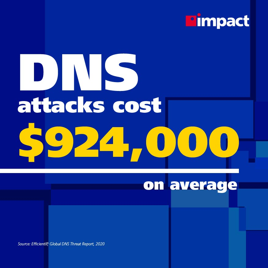 Average cost of a DNS attack | What Is DNS Layer Security?