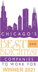 Chicago's Best and Brightest Places to Work For 2021 Logo